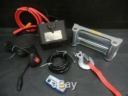 Patrouilleur Landcruiser Hilux De Treuil Électrique De Fil De Livre De DD 12v 9500lb Sans Fil De 8.3mm