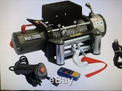 Podgotoffka Treuil Électrique 12 V, 12000 Lbs, Câble En Acier