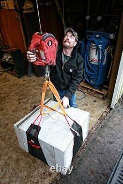 Portable De Levage Électrique Traction Treuil Construction Garage 1000lb 120v Cordé
