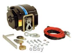 Powerwinch 712a Électrique Remorque Treuil 12v 7,500lbs
