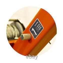 Prowinch 1000 Lbs Davit Grue Pivotante Avec 360 Sans Fil Treuil Électrique 12v