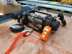 Recovery Truck Electric Winch & Mount Plate Combinaison Offre £329.00 Inc Cuve