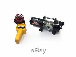 Récupération Remorque Électrique Winch, 2000 Lbs Five Oceans Fo-3437
