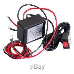 Récupération Treuil Électrique Automatique 2000lb 12v 0.9hp Vtt Utv Camion Voiture Withremote