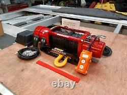 Récupération Winch Synthetic Rope Electric Truck 13500lb Winch @ £325.00 Inc Cuve