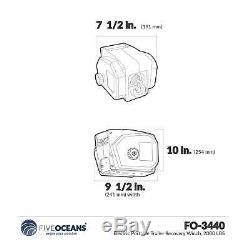 Remorque De Récupération Portable Winch Électrique, 2000 Lbs Five Oceans Fo-3440-1