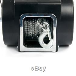 Remorque Remorque Treuil-électrique 12v / Capacité De Charge 5000 Lbs Camion / Vtt / Bateau