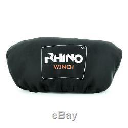 Rhino 17500lb Heavy Duty Câble D'acier, 4x4, Camion Électrique De Récupération Winch