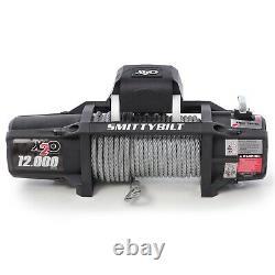 Smittybilt 97512 X2o-12k Gen2 Winch 12000 Lb Ligne 6.6 HP Steel Rope Black