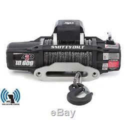 Smittybilt 98510 X2o 10 Comp-gen2-10 000 Lb Série De Treuil-comp Avec Corde Synthétique