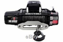 Smittybilt 98510 X2o-10k 10000 Lbs Gen 2 Comp Série Winch Étanche