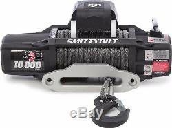 Smittybilt 98510 X2o Treuil En Corde Synthétique Imperméable, Capacité De Charge De 10000 Lb