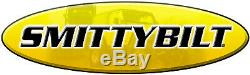 Smittybilt 98512 Winch / Synthétique Corde / Aluminium Chaumard / Texturé Noir 12000 Lb