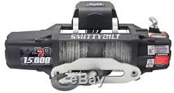 Smittybilt 98512 X2o 12k Gen2 Winch 12 000 Lb Treuil Imperméable Corde Synthétique