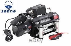 Smittybilt Winch Crx 9.5 Gen 2 9500lb Récupération Treuil Ip67 Pour Jeep 97495