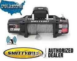 Smittybilt X2o Gen2 12 000 Lb Sans Fil Étanche Winch Universal 97512
