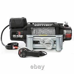 Smittybilt X2o Gen2 15500lb Treuil Sans Fil 12v Electric 98.5ft Câble D'acier