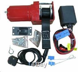 Snowbear Électrique Chasse-neige Winch 3000 Kit--lb. 12 Volt