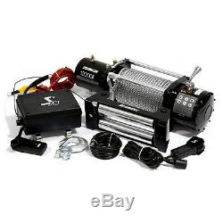 Speedmaster 12000lbs / 5445kgs Électrique 12v 4wd Treuil Kit Avec Télécommande Sans Fil