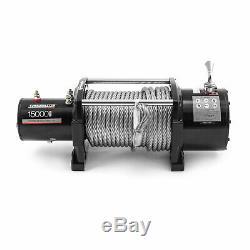 Speedmaster 15000lbs / 6803kgs Électrique 12v 4wd Treuil Kit Avec Télécommande Sans Fil