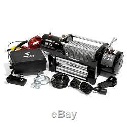 Speedmaster 9500lbs / 4310kgs Électrique 12v 4wd Treuil Kit Avec Télécommande Sans Fil