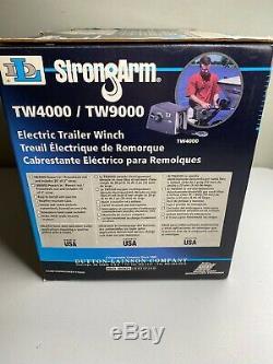 Strongarm Électrique Treuil De Remorque Tw9000 Pour Bateaux 9000lbs Jusqu'à