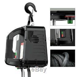 Supérieur 660 Lbs Electric Wire Treuil De Levage De Grue De Levage Hoist 110v Télécommande