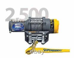 Superwinch 1125220 Terra 25 3/16x50' Treuil Électrique Avec Une Capacité De 2500 Lb