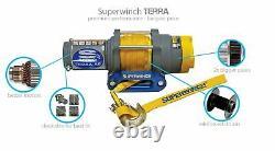 Superwinch 1135220 Terra 35 13.64x50' 12 Volt Winch Avec 3500 Lb Capacité