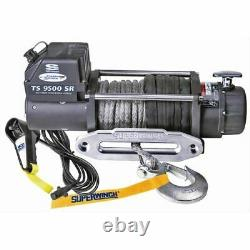 Superwinch 1595201 Winch Tiger Shark 9500 Electric 12v 9500 Lbs Hawse Fairlead