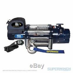 Superwinch 18000 Lbs 12 VDC 1 / 2in X 85 Pieds Corde En Acier Talon 18 Winch
