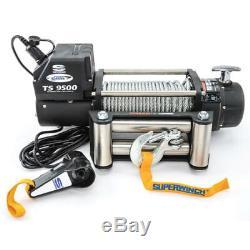 Superwinch 9500 Lb Capacité Rouleaux Tiger Shark 9500 Winch P / N 1595200
