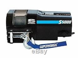 Superwinch S104178 S5000 Treuil Électrique 24v Avec Corde En Acier 5000lb