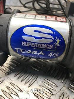 Superwinch Terra 45 Treuil Électrique 12v 4500lb, 2041kg