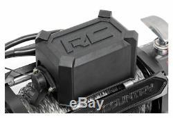 Système De Récupération De Treuil Électrique 12 000 Lb Rough Country Avec Corde Synthétique Pro12000s