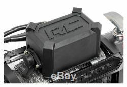 Système De Récupération De Treuil Électrique Rough Country 9500-lb Avec Corde Synthétique Pro9500s