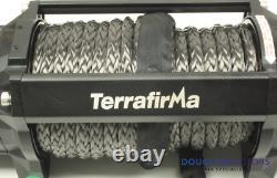 Terrafirma A12000 12v Electric Winch 12,000lb Corde Synthétique Tf3301