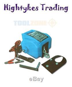 Tige De Bateau Électrique Toolzone 12v Jusqu'à 6 000 Livres D'extracteur De Câble