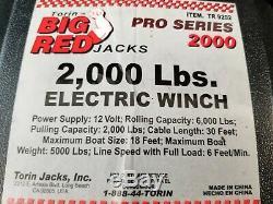 Torin Big Red Treuil Électrique 2000 Lb Tr 9202
