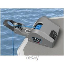 Trac 69005 Deckboat T10219g3 Électrique 12v Ancre Pont Treuil 40lb Autodeploy Bateau
