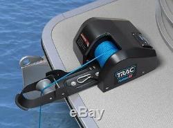 Trac Pontoon 35lb D'ancre Électrique Dech Winch Noir Eau Douce T10109-g3 Boat MD