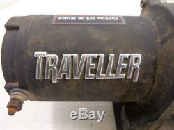 Traveller 12v Utv Electric Winch 4500 Livres Lbs