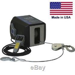 Treuil Ca Électrique Et Télécommande 4000 Lbs 120 Volts 5701 Freespooling