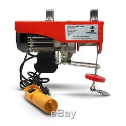Treuil De Garage 110v Fo-3782-2 De Levage De Grue Électrique Aérienne De Grue De 1320 Livres