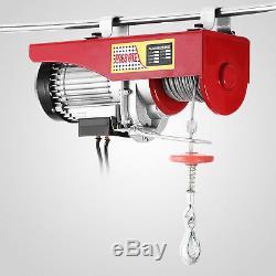 Treuil De Garage Électrique Aérien De Grue De Levage De Grue De 1500 Livres Avecremote 110v