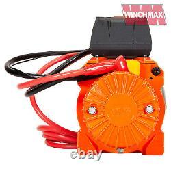 Treuil Électrique 12000lb Deux Vitesses 12v Corde De Fil Wireless Caractéristiques Fast Winch