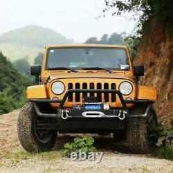 Treuil Électrique 13000lbs 12v Pour Vus De Camion Jeep Télécommande Durable 4wd Nouveau