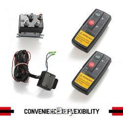 Treuil Électrique 4500lbs Corde Synthétique Télécommande Pour Atv Offroad Ute Bateau