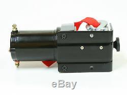 Treuil Électrique 4x4 1500lbs 520w Moteur 15m Longueur Ø4mm Télécommande