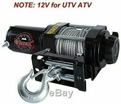 Treuil Électrique Bravex 3500lbs Atv Utv Série A-ch3500